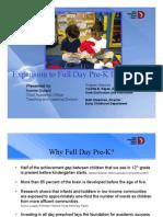 Dallas ISD full-day pre-kindergarten options
