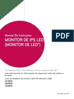 Manual Monitor LG Ultrawide