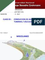 Tuberias Calculo