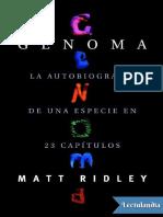 Genoma - Matt Ridley