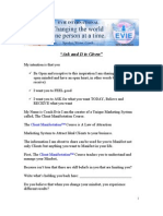 Ask and It is Given PDF Blog