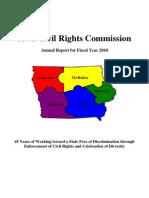 Annual Report Civil Rights Commission