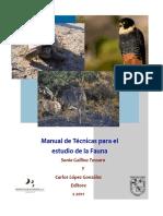 Manual de Tecnicas Para El Estudio de La Fauna