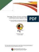 OCAP Critical Analysis 2005