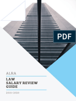 ALRA Salary Review Guide - LEGAL