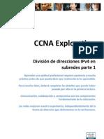 Division de Direcciones IPv4 en Subredes Parte1