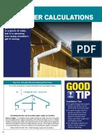Rainwater Calculation