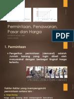 Permintaan, Penawaran, Pasar dan Harga.pptx