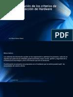 """Actividad AA1-3 """"Aplicación de los criterios de selección de Hardware"""".pptx"""