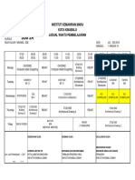 Jadual Kelas Jul-Dis19 SSB2