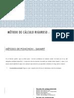 Metodo de Ponchon Savarit