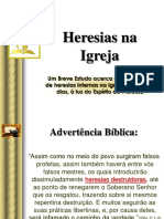 Heresias na Igreja.pps