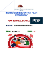 Plan de Tutoria 2019