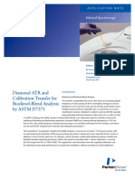 PKI_AN_2011_Diamond ATR and Calibration Transfer for Biodiesel_Blend Analysis by ASTM D7371