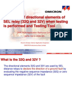 TRG-10015-2009-V0_(The effect of directional elements of SEL relay (32Q and 32V)).ppt