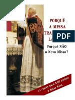 Por que a Missa tradicional