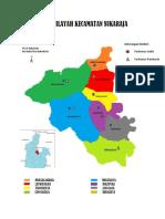 Peta Wilayah Kecamatan Sukaraja
