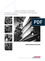Pautas de Cableado y Conexión a Tierra Para Variadores de CA Con Modulación de Ancho de Pulsos (PWM) (Drives-In001_-Es-p)