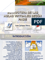 Estructura de Un Aula Virtual Segun PACIE