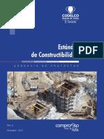 Estándar N°01 - Constructibilidad