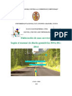 INFORME DE CARRETERA