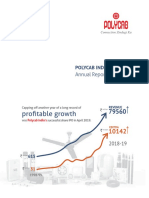 Annual Report - POLYCAB FY 18-19