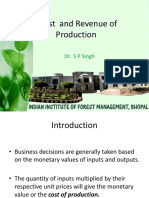 L9 Cost and Revenue