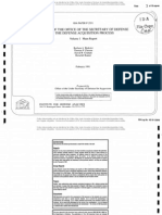 THE ROLE OF THE OFFICE OF THE SECRETARY OF DEFENSE IN THE DEFENSE ACQUISITION PROCESS