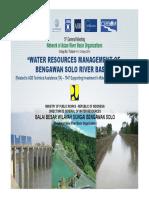 WRM of Bengawan Solo River