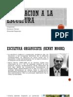 ESCULTURA ORGANICISTA