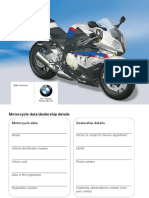 S1000RR OWNERS MANUAL 2013