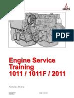 1011-2011 TRAINING MANUAL Deutz Engine 999 0512