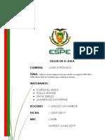 aplicacion de Norma ISO 9001 2008
