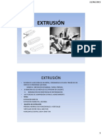 Clase 10 - Extrusion