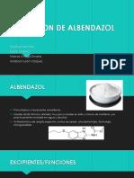 Suspension de Albendazol