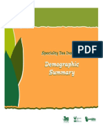 Tea demography