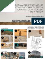 Sistema Constructivo No Convencional en Seco