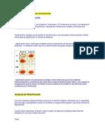 Tecnicas de Aglutinacion y Precipitacion (Rpr)