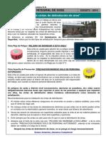 Charla Integral de SSSE 073 - Uso de Cintas de Delimitación de Área