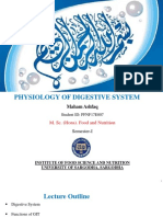 Pysiology of Digestive System