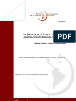 Norberto Fernandez-La Evaluacion de Docencia