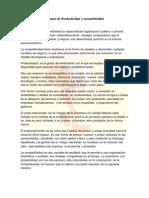 Ensayo de Productividad y Competitividad FREDY HERNANDEZ