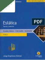 ESTÁTICA - temas selectos FÍSICA - Lumbreras.pdf