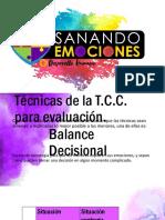 Tecnicas en niños TCC