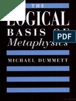 Dummett Logic and Metaphysics.pdf