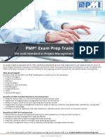 PMP  - Flyer