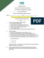 Examen 3 MATH 118