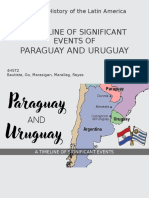 Paraguay and Uruguay