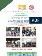 Village Development Plan Nawrangabad. UBA REPORT (1)