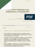 Control de versiones con Tortoise